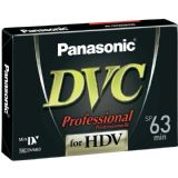 Panasonic Professional AY-DVM63HDE- 5 Pack Mini DV Tapes